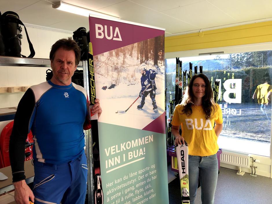 BUA Lørenskog låner gratis ut friluftsutstyr til alle og var en av samarbeidspartnerne under Kom deg ut-dagen.