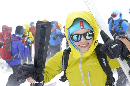 Feller og ski gir glede