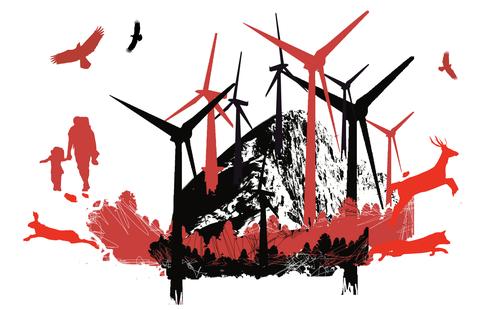 Vindkraftanleggene ødelegger naturen i Midt-Norge