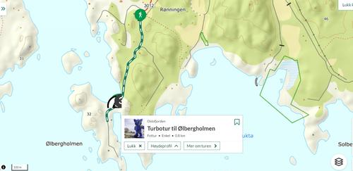 Ukas tur (26) - Turbotur til Ølbergholmen