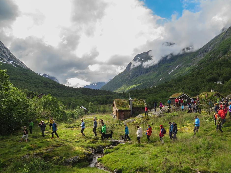 Følg en historisk vandrerute i høst