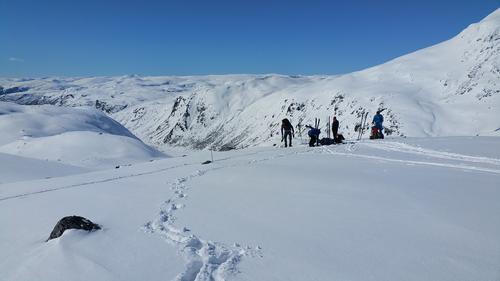 Skitur til Skogadalsbøen