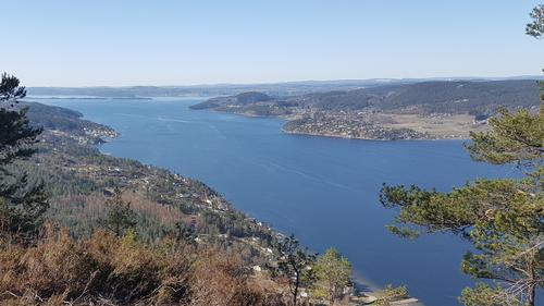 Utsikt fra Knivsfjellet