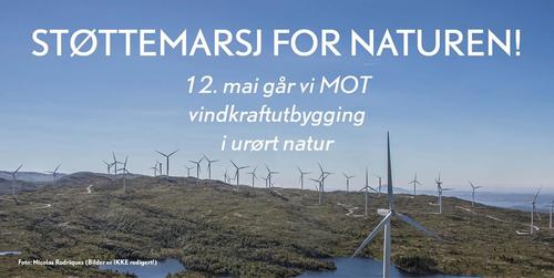 Støttemarsj for naturen 12. mai