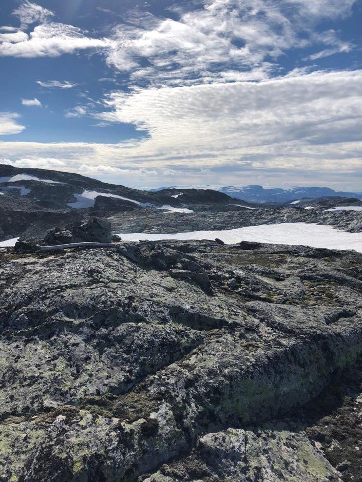 Utsikt mot Hardangerjøkulen