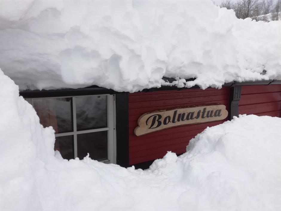 Full vinter på Bolna.