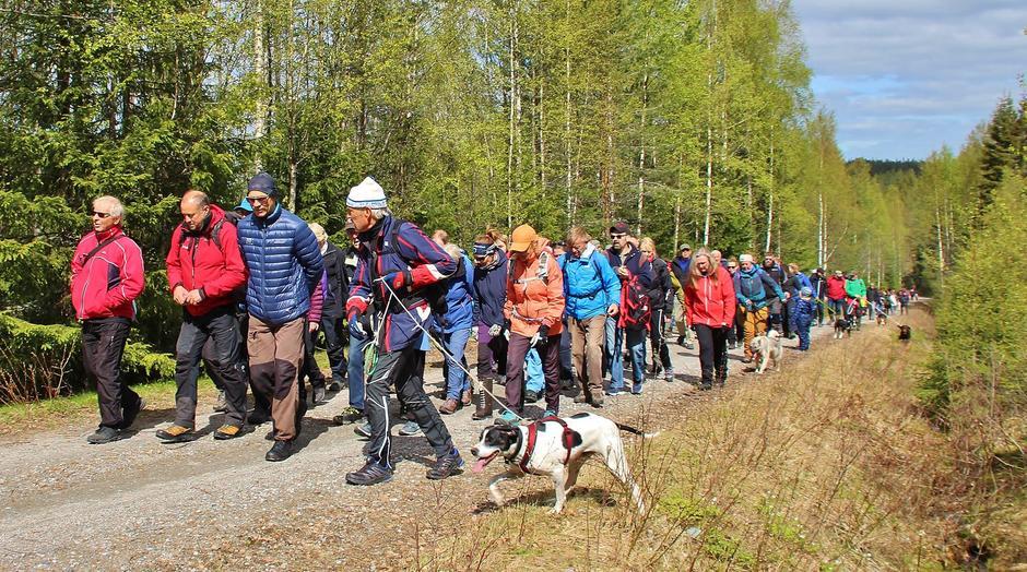 130 legger i vei mot Songkjølen
