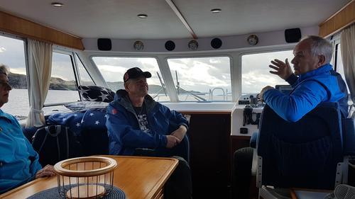 Tirsdagsgruppa sin tur til Risøyna 25.08.20
