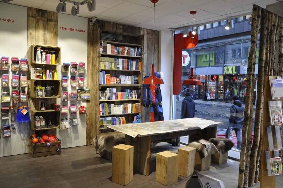 Turinformasjonen holder til i trivelige lokaler i Storgata 3 i Oslo.