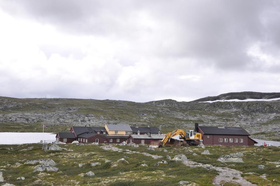 En større rehabilitering av hytta ble gjennomført sommeren 2014.