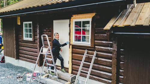 Dugnadsrapport Pråmvika 23.9