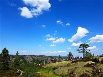 Varm jubileumstur på Solhomfjell i Nissedal