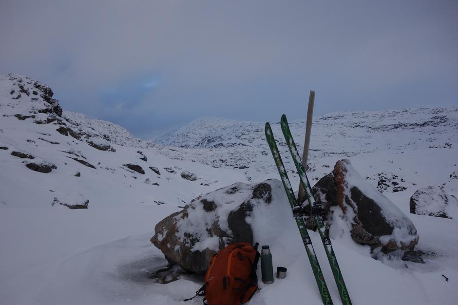 Søndag 9.12: På ski fra Kvitingen til Gullhorgabu i Bergsdalen