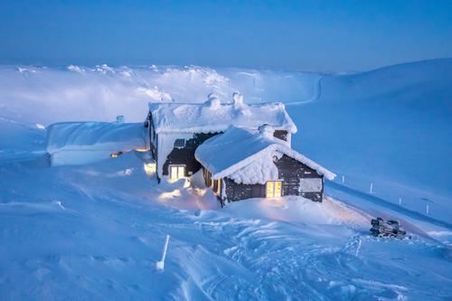 Åpne hytter i vinterferien