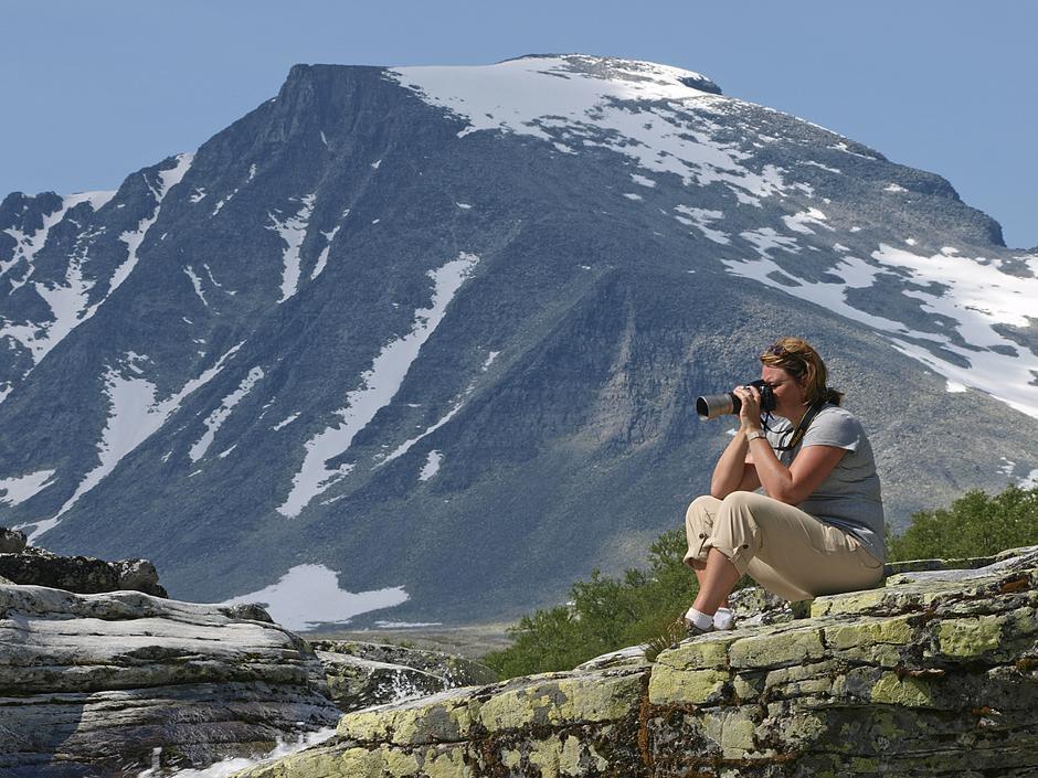KJENT PROFIL: Rondeslottet ser du fra store deler av fjellheimen i Sør-Norge - og utsikten fra toppen er deretter.