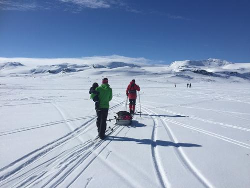 Ski på Finsevatnet
