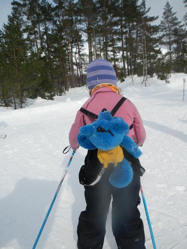 Turboreven på skitur i Hjelmelandsdalen!