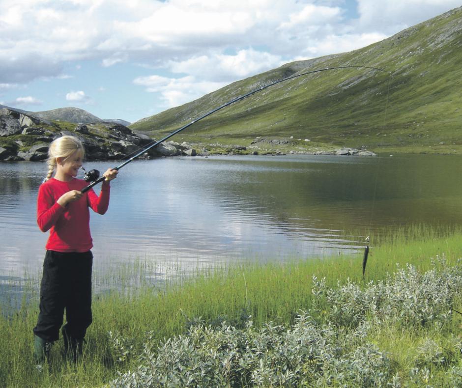 Vassendsetra er et fint utgangspunkt for fisktur i Hyttdalen
