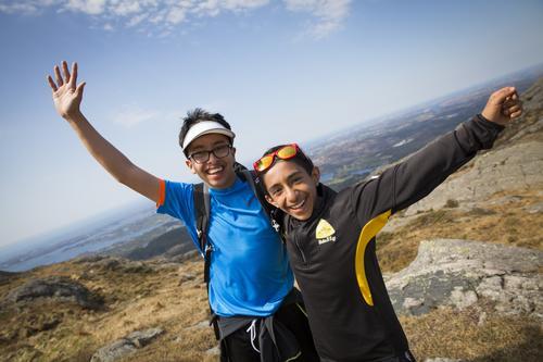 Se bildene fra 5- og 7-fjellsturen på Bømlo