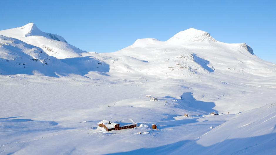 MAGISK: I hjertet av Tafjordfjella, i vill og vakker natur finner du Veltdalshytta. Her er du på grensa mellom det kuperte  vestlandet og det flatere østlandet.
