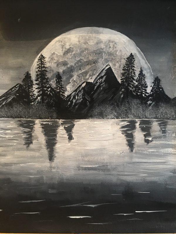 Moon by Thomas