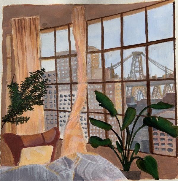 Out a Window by Hannah