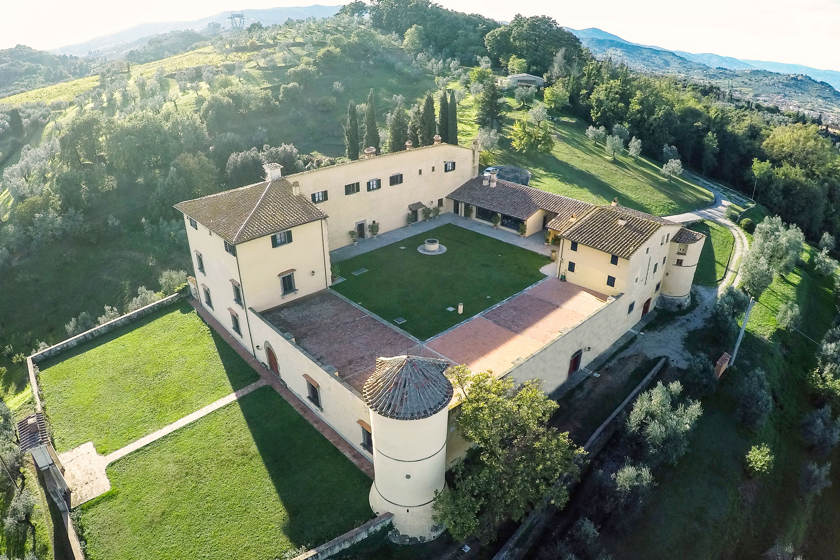 Private villa in prato Italy