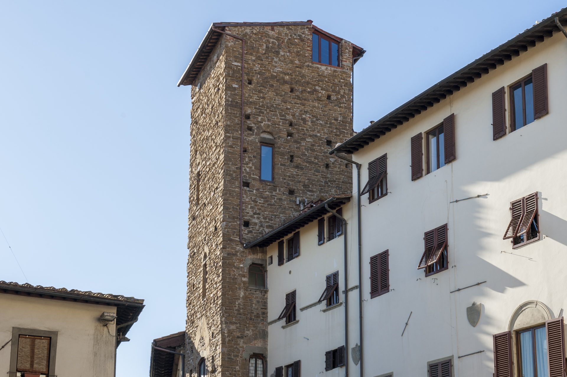 History experience in florence with medieval towers