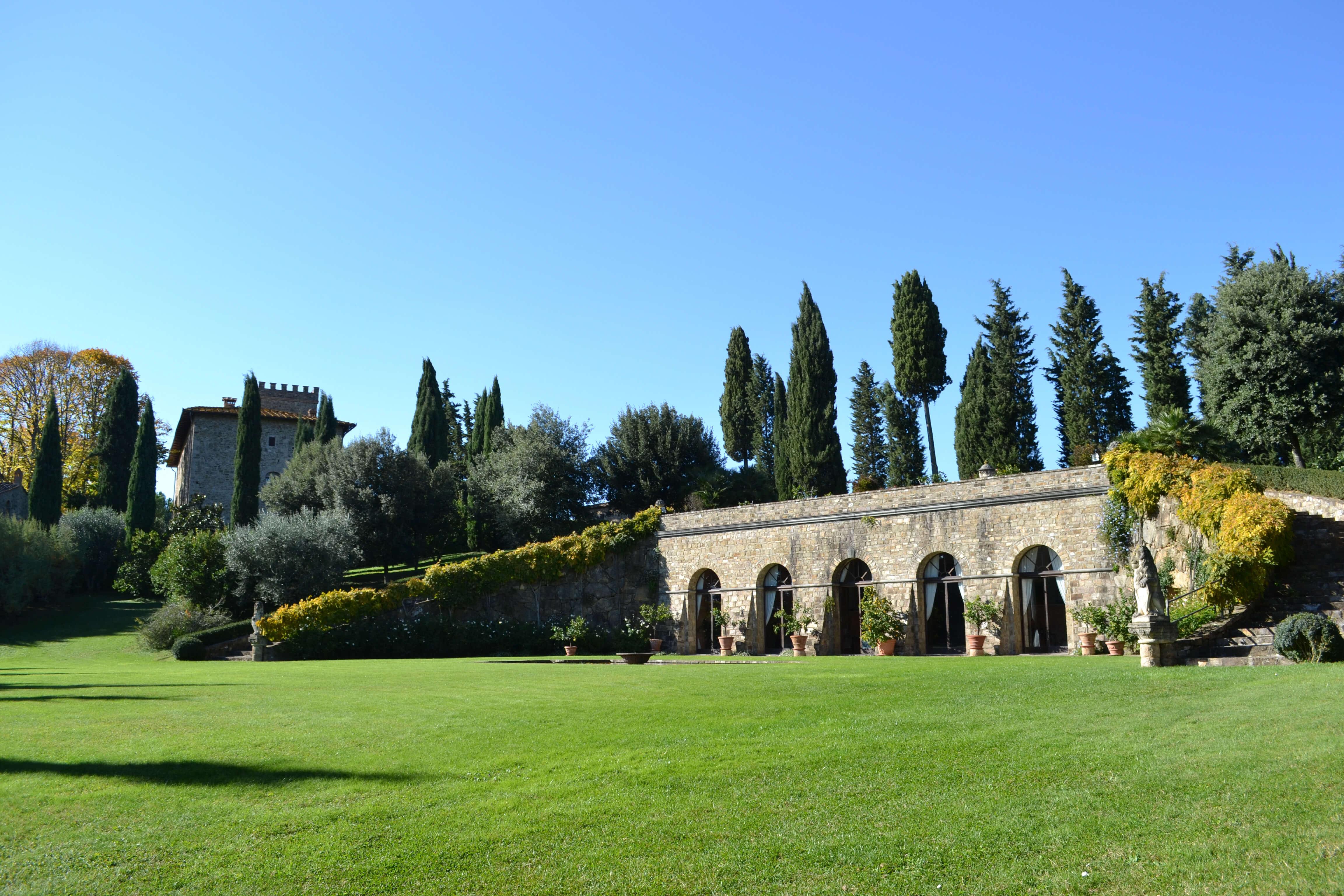 Visit monsanto in Tuscany