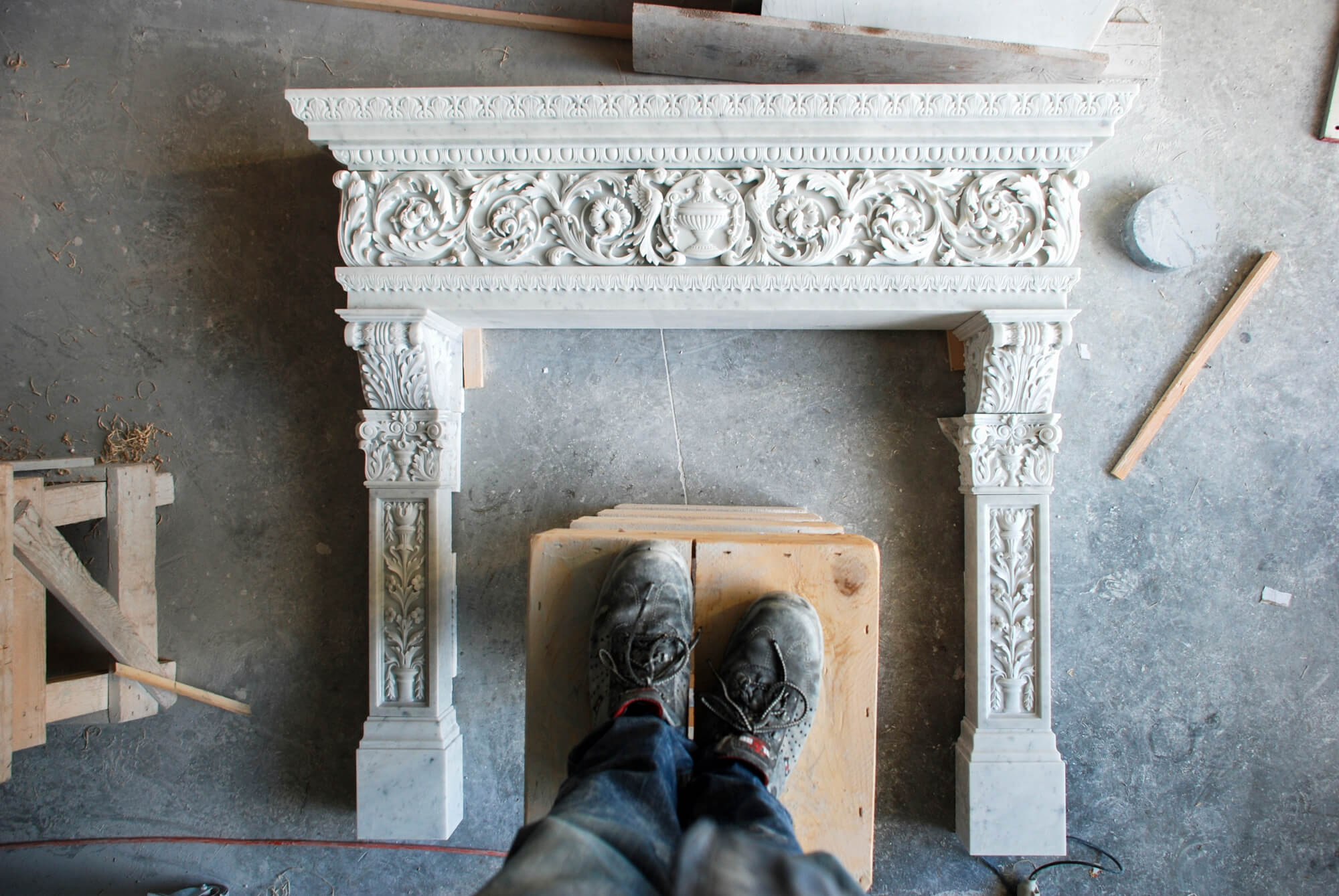 Discover marble artisans in Tuscany