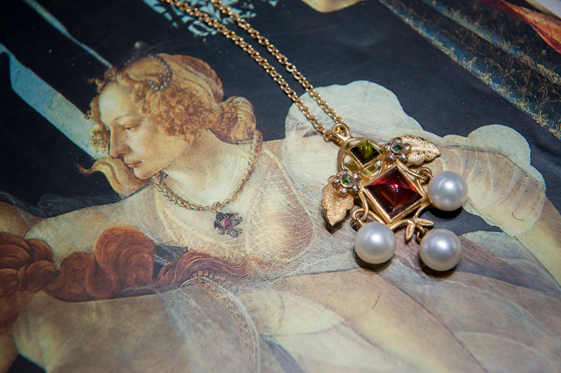 Florentine handicraft jewellery experience