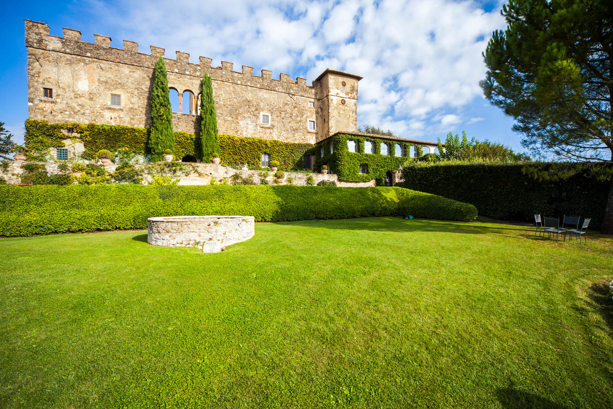 Castle Paneretta in Chianti region
