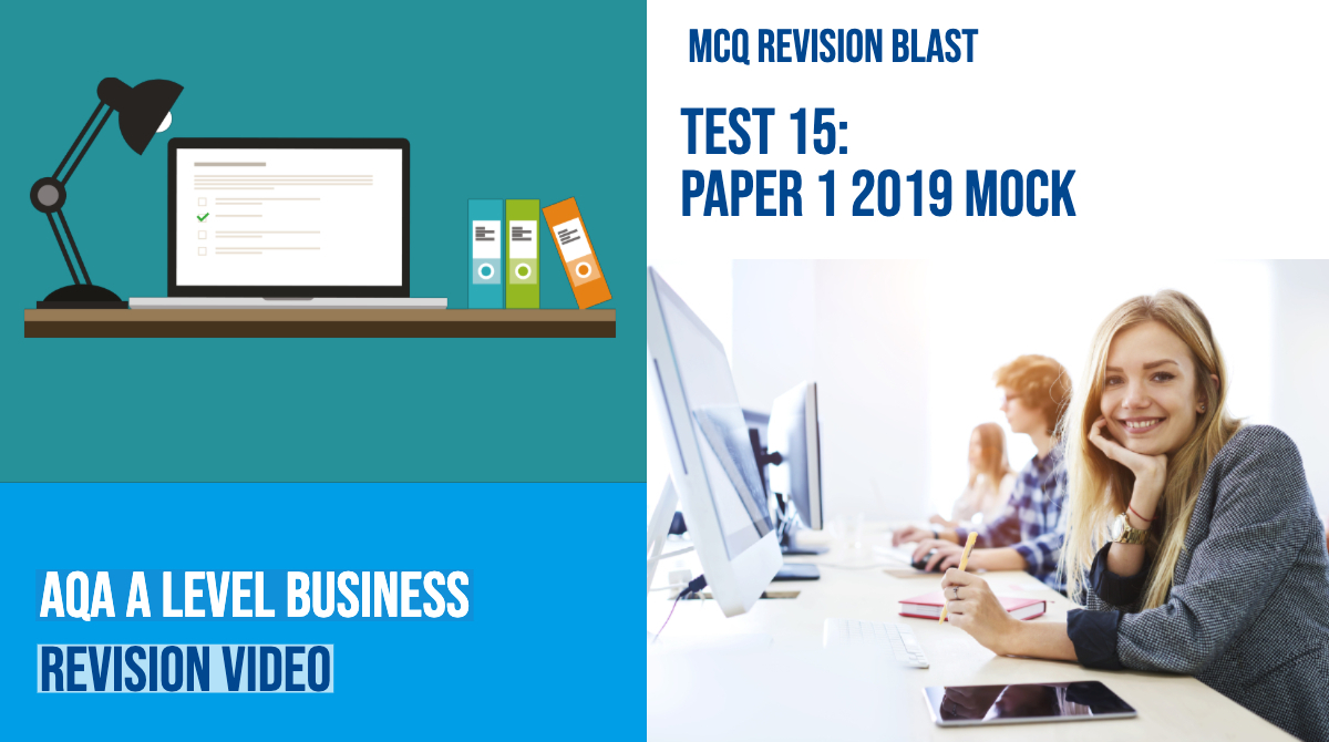 Practice exam questions | Reference library | Business | tutor2u