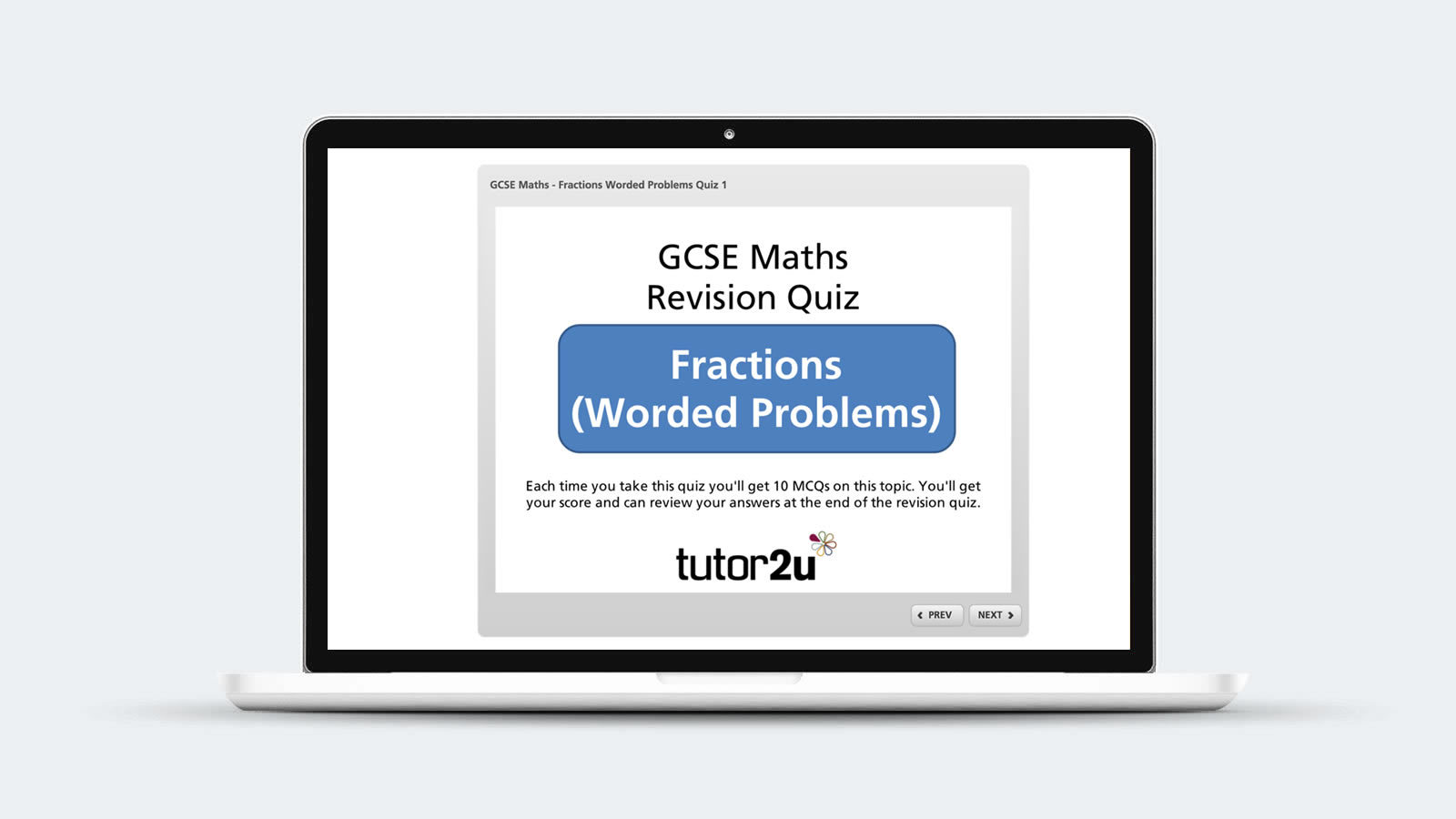 Try These Gcse Maths (91) Revision Mcqs On Fractions Worded Problems