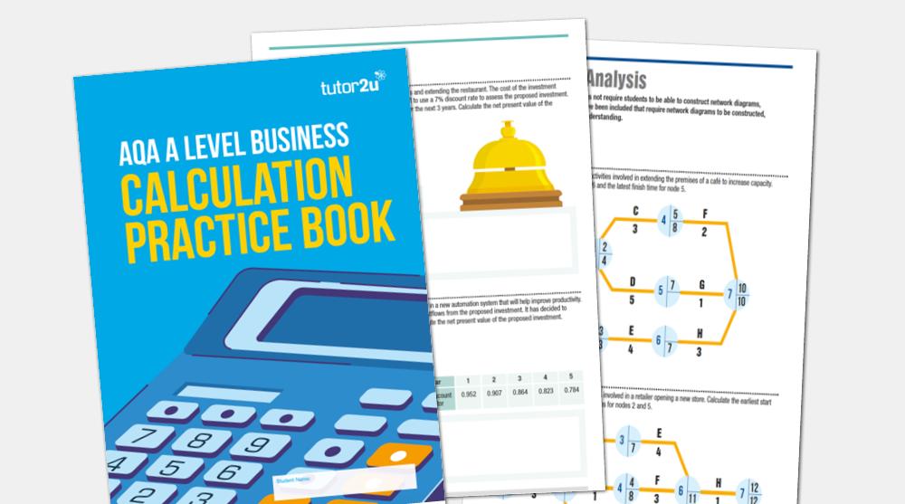 introducing the aqa a level business calculation tutor2u business rh tutor2u net