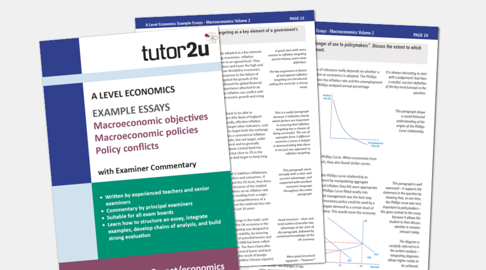 macroeconomics example essays volume for a tutoru economics printed edition