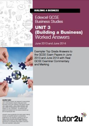 edexcel gcse business studies past papers