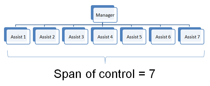 Span of control gcse tutor2u business wide span of control thecheapjerseys Choice Image