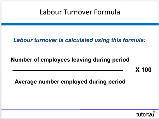 Labour turnover | Business | tutor2u