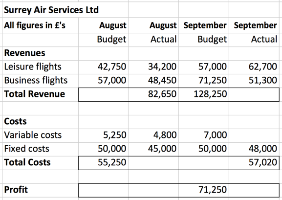 What Are Some Examples of Budget Variances?