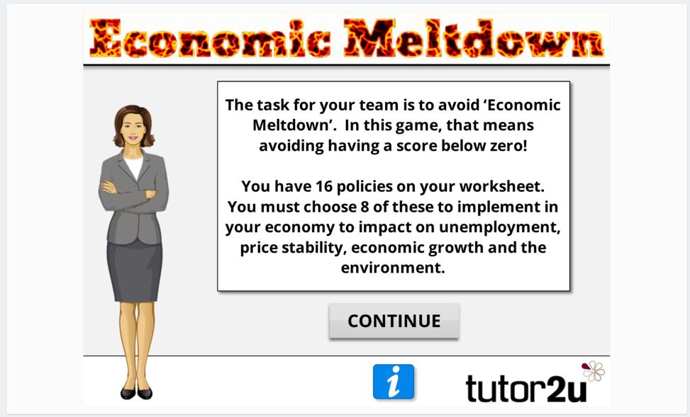 Economic Meltdown | Economics | tutor2u
