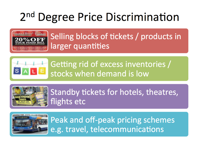 "third degree price discrimination essay We provide free model essays on economics, price discrimination examples of first-degree price discrimination are called ""price third degree price."