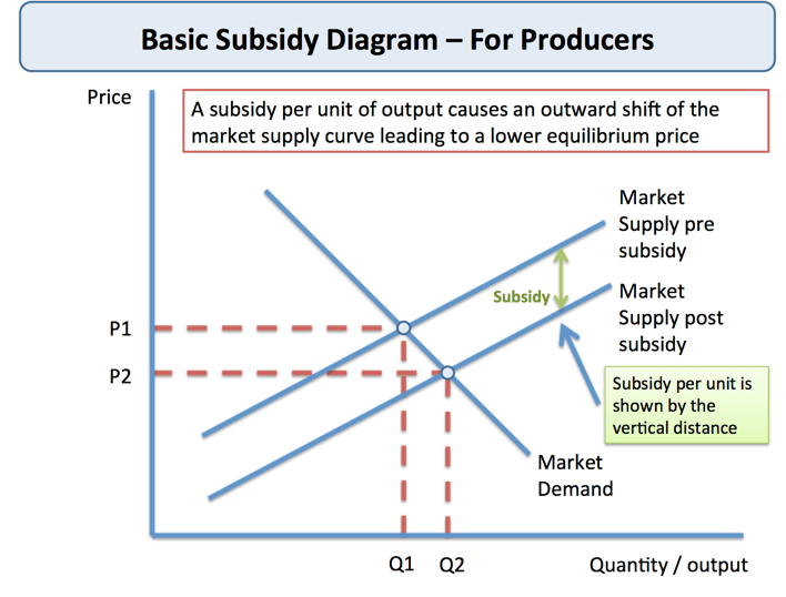 What is a subsidy