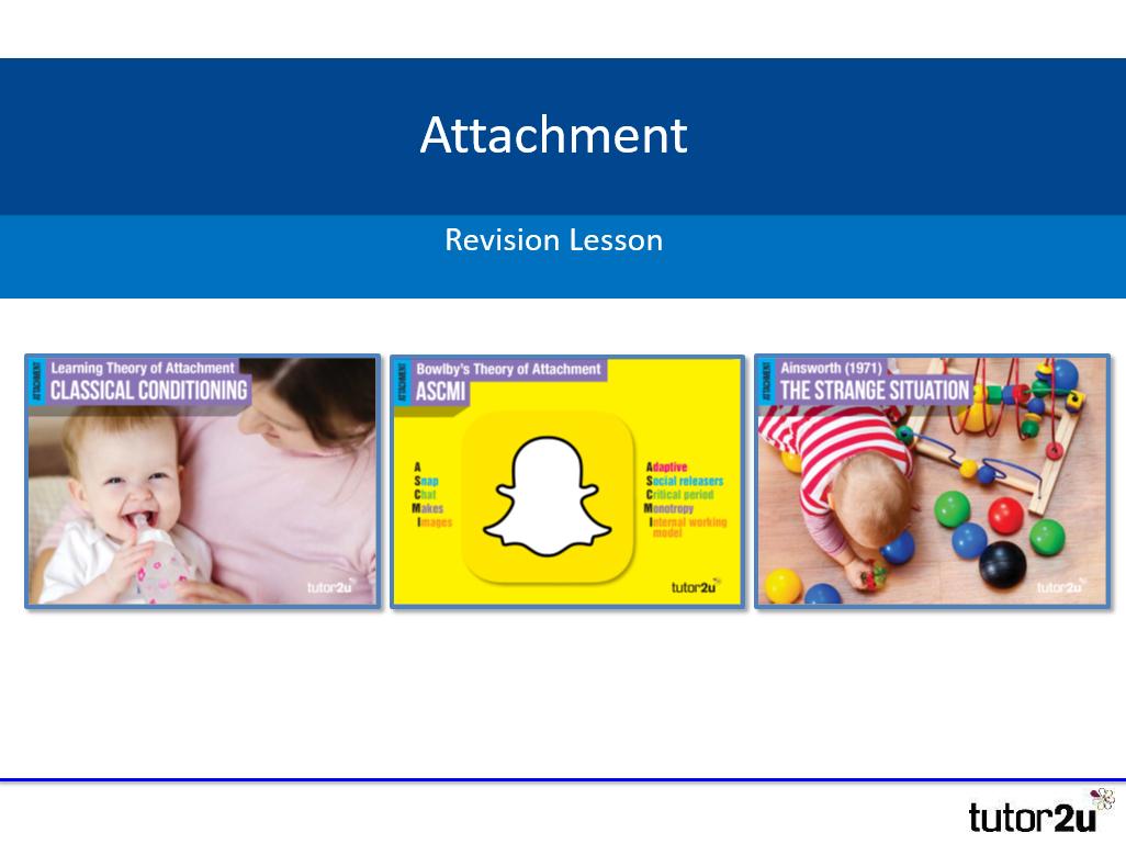 psychology attachment revision