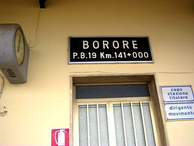 borore
