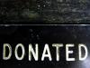 donated