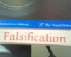 falsification