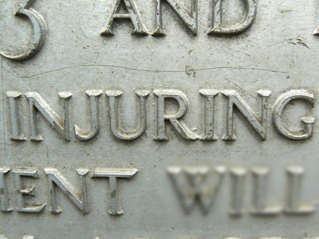 injuring