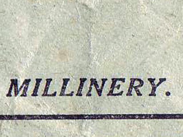 millinery