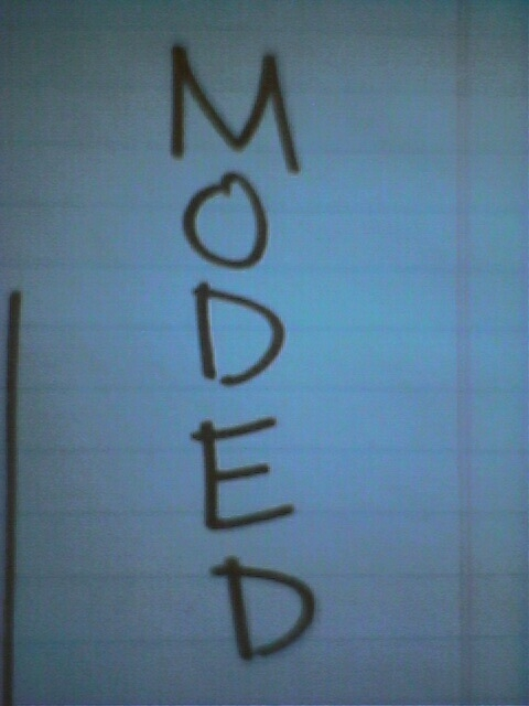 moded